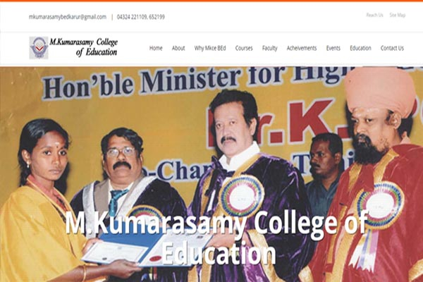 M.Kumarasamy College of Education